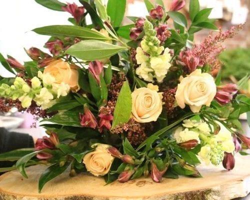 bouquet de fleurs champêtres du Plateau