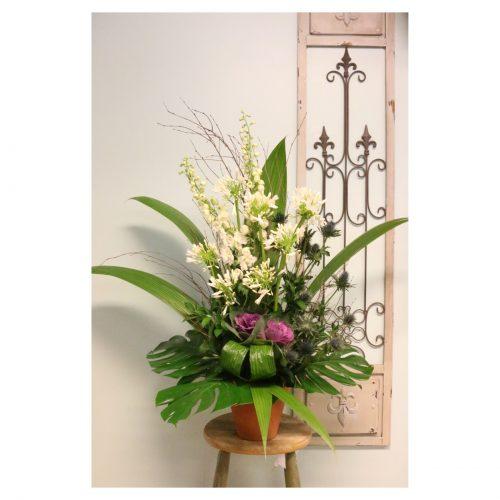 arrangement de fleurs