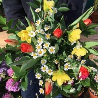 Bouquet prairie
