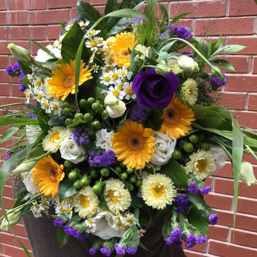 Le bouquet de fleurs de Bryan