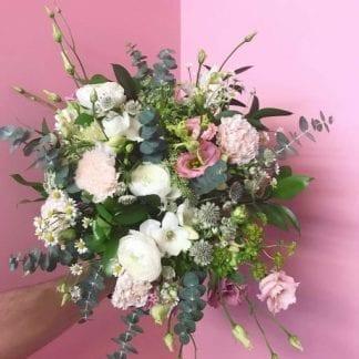 bouquet romantique, bouquet de Mathilde, mariage